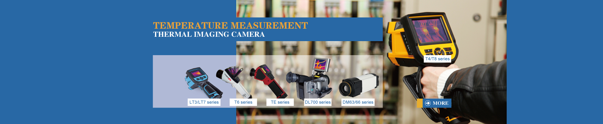 temperature measurement thermal imaging camera