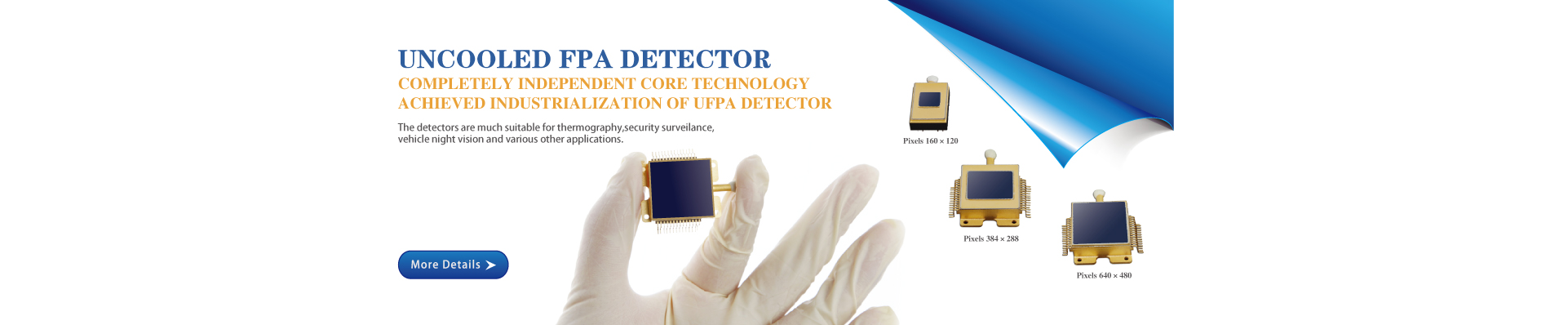Uncooled FPA detector